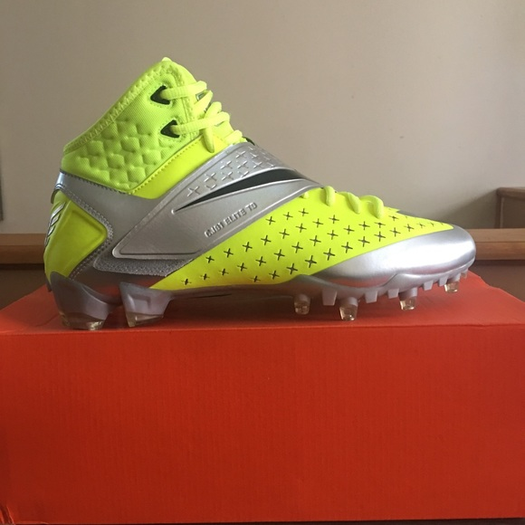 new arrivals 2e71f 4e6ee Nike CJ81 Elite TD Cleats size 10